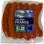 HALAL FRESH Chicken Frankfurters 1lb