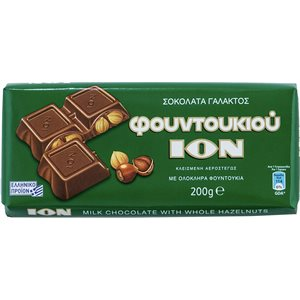 ION Chocolate with hazelnuts 200g