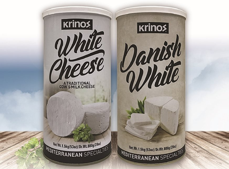 Krinos White and Krinos Danish